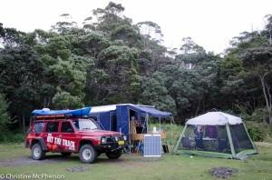Camp at Cockle Creek