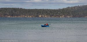 Kayaking in the Channel