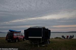 Campsite at Gordon