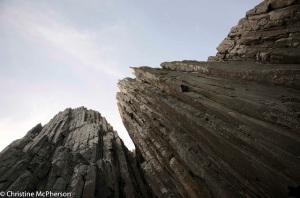 Tallest sea cliffs in Australia - 800 ft high