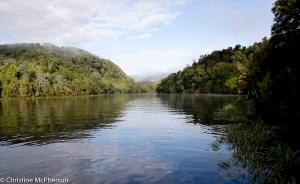 Pieman River at Corinna