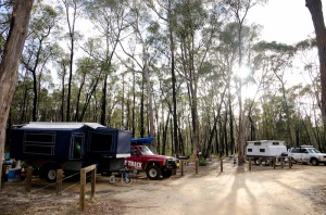 Our camp in the Grampians with Mum & Dad