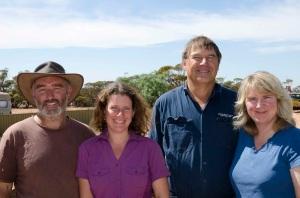 Stephen, Christine, Trevor & Janine.