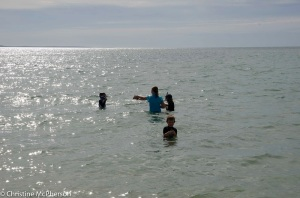 Snorkelling, exploring ....