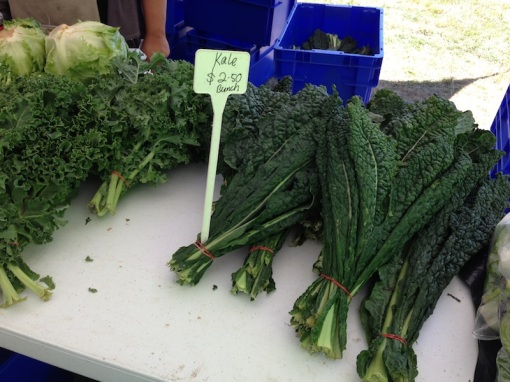 Fresh local produce is always the best!