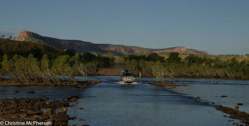 Crossing the Pentecost River