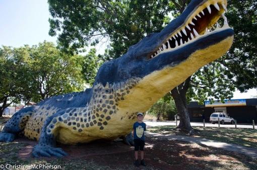 Wyndham's Big Crocodile