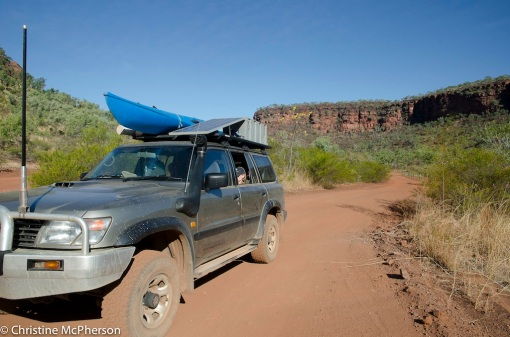 Exploring Victoria River region