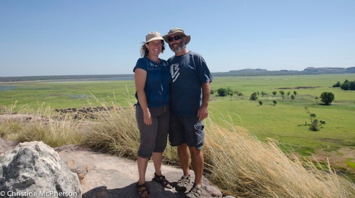 At Ubirr looking over Arnhem Land