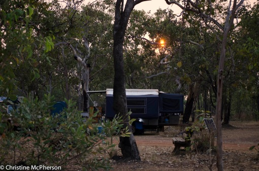 Our last campsite in Kakadu