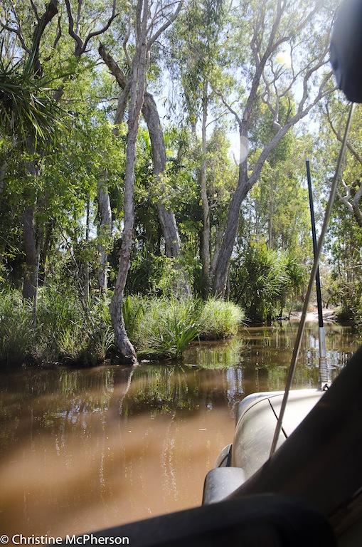 Water crossing in Litchfield