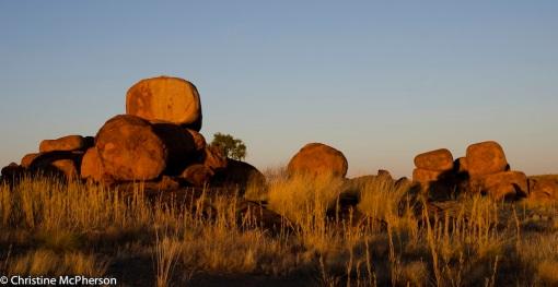 Golden Boulders