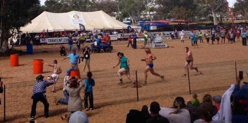Todd Regatta Fun - Budgie Smuggler Race