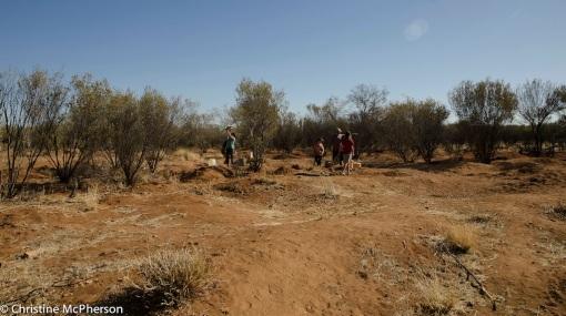 Mining the garnet fields